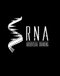 Logo RNA fundo preto