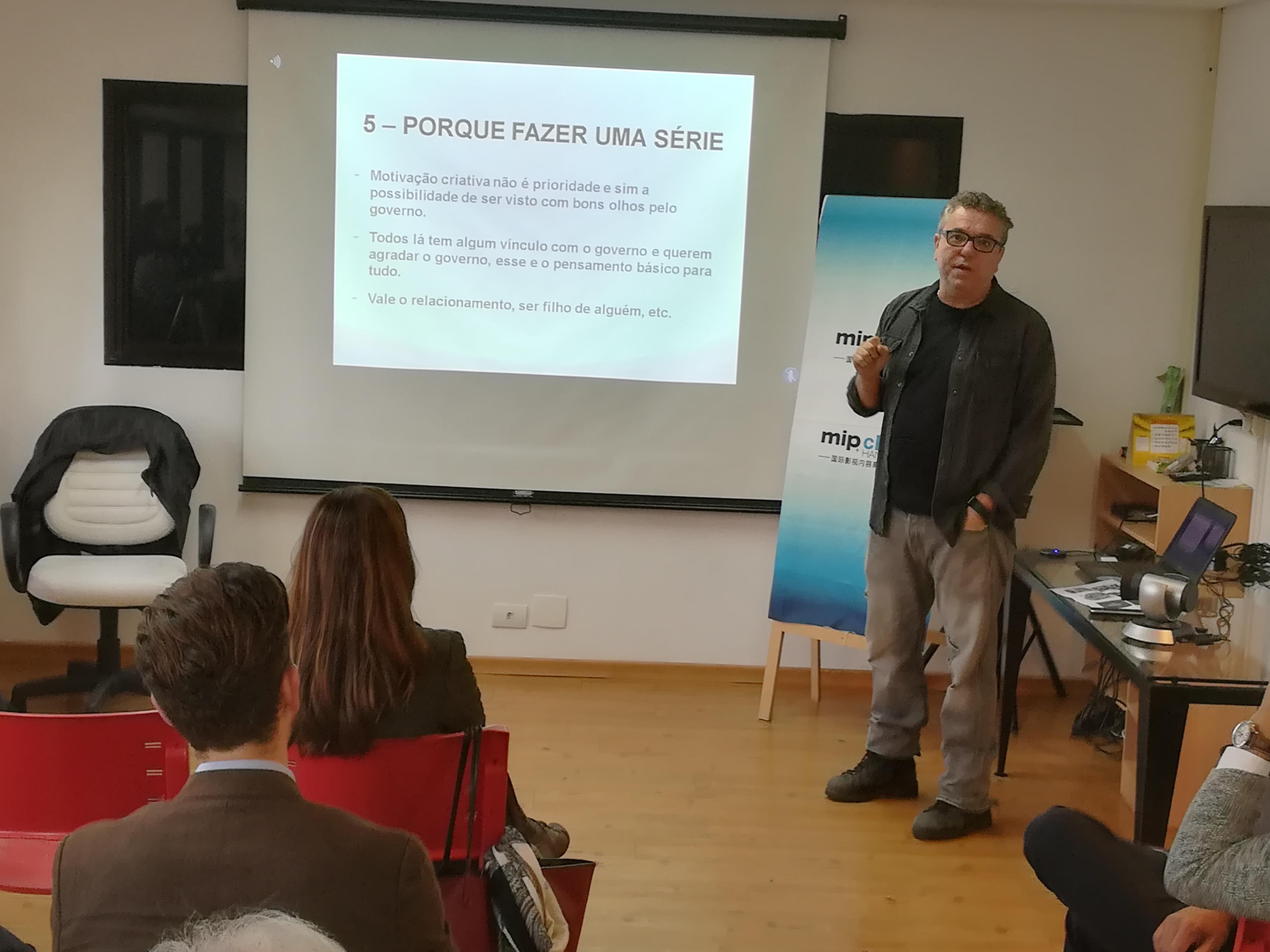 Paulo Nascimento, da Accorde Filmes, comenta no primeiro Brazilian Content Exchange sua experiência no MIP China Hangzhou