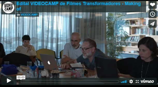 Confira o vídeo do workshop do edital VIDEOCAMP de filmes transformadores