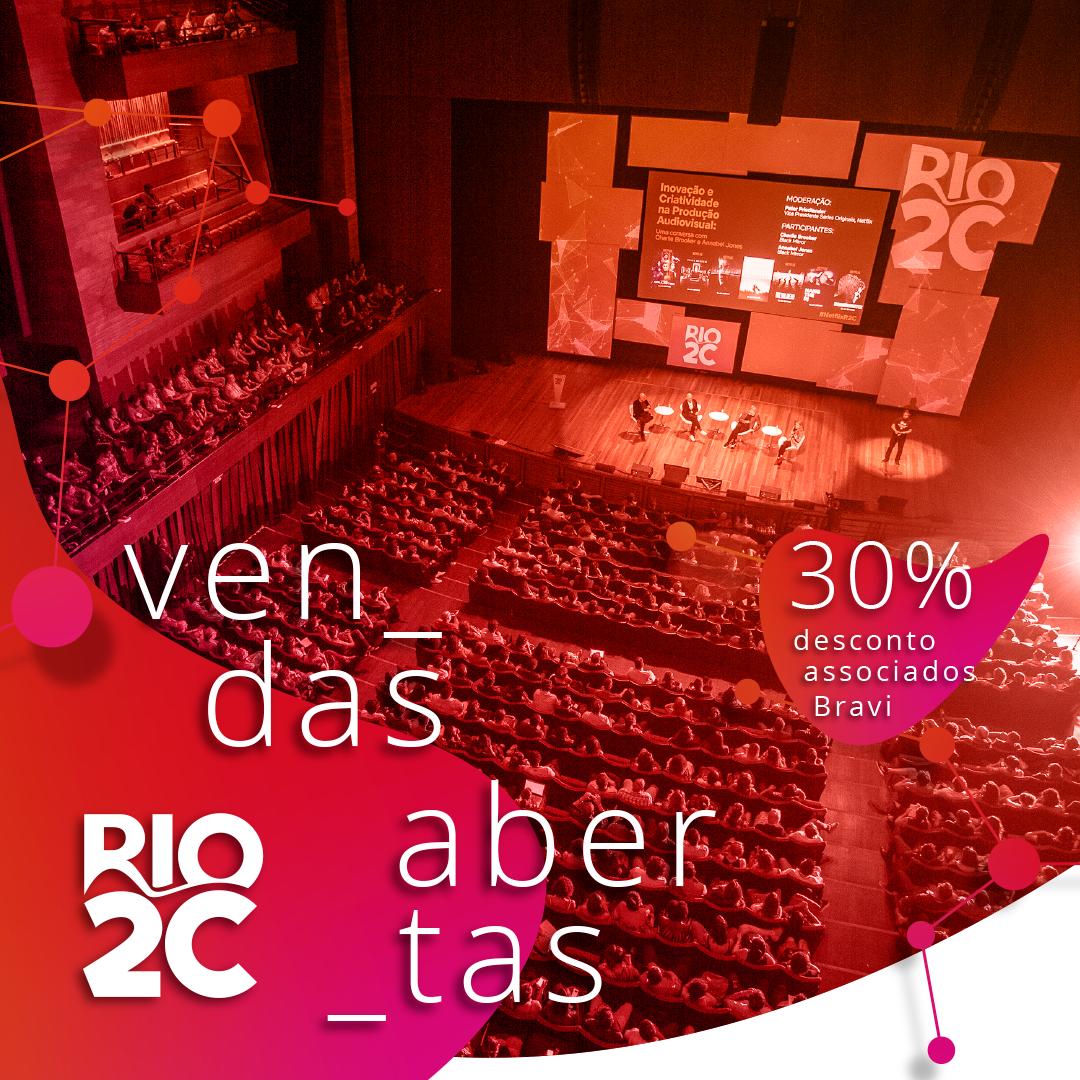 rio2c 2020 vendas abertas desconto associados